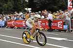 Tony Martin (GER) Team Columbia High Road starts Stage 18 of the Tour de France 2009 an individual time trial running 40.5km around Lake Annecy, France. 23rd July 2009 (Photo by Eoin Clarke/NEWSFILE)
