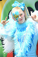 """10 August 2019 - Westwood, California - Jojo Siwa. Sony's """"The Angry Birds Movie 2"""" Los Angeles Premiere held at Regency Village Theater.   <br /> CAP/ADM/BT<br /> ©BT/ADM/Capital Pictures"""