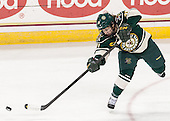 Amanda Pelkey (UVM - 21) - The Boston College Eagles defeated the visiting University of Vermont Catamounts 2-0 on Saturday, January 18, 2014, at Kelley Rink in Conte Forum in Chestnut Hill, Massachusetts.