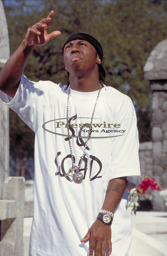 Lil Wayne in New Orleans.  Photo credit: Elgin Edmonds / Presswire News