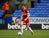 9th September 2017, Macron Stadium, Bolton, England; EFL Championship football, Bolton Wanderers versus Middlesbrough; Stewart Downing of Middlesbrough on the ball
