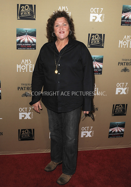 WWW.ACEPIXS.COM<br /> <br /> October 3 2015, LA<br /> <br /> Dot Marie Jones arriving at the premiere of FX's 'American Horror Story: Hotel' at the Regal Cinemas L.A. Live on October 3, 2015 in Los Angeles, California.<br /> <br /> <br /> By Line: Peter West/ACE Pictures<br /> <br /> <br /> ACE Pictures, Inc.<br /> tel: 646 769 0430<br /> Email: info@acepixs.com<br /> www.acepixs.com