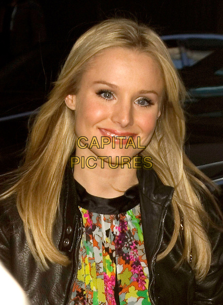 KRISTEN BELL.Appearance on TRL at MTV Studios, New York, NY, USA..April 15th, 2008.headshot portrait .CAP/LNC/TOM.©TOM/LNC/Capital Pictures.