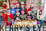 The children of Kilgarvan National School have designed their very own Christmas Cards for sale in the local community to help fund-raise for the school. <br /> Front L-R Kelly Twomey, Ronan Foley, Jake Casey, Darragh Creedon, Mary Ellen McCarthy and Kathy Cronin. <br /> Back L-R Eva Gadsden, Tom&aacute;s Creedon, Kyle Cronin, Eugene O'Sullivan, Phoenix Randles and Amy Riordan.