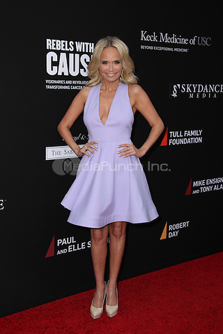 SANTA MONICA, CA - MAY 11: Kristin Chenoweth arrives at the 3rd Biennial Rebels With A Cause Fundraiser at Barker Hangar on May 11, 2016 in Santa Monica, California.  Credit: Parisa/MediaPunch.