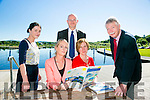 Launching  of the Kerry Economic and Community Plan 2012 - 2022 at the Wetlands Centre on Monday. Pictured l-r   Lisa Fanning, KCC, Noreen O'Mahony, KCC, Kevin Burns, KCC, Siobhan Griffin, KCC, and Stuart Alcock, Applied Business Support