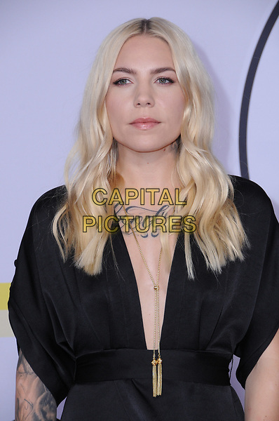 19 November  2017 - Los Angeles, California - Skylar Grey. 2017 American Music Awards  held at Microsoft Theater in Los Angeles. <br /> CAP/ADM/BT<br /> &copy;BT/ADM/Capital Pictures