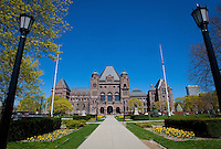 The Legislative Assembly of Ontario, often named Queen's Park, is pictured in Toronto April 19, 2010.