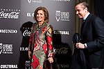 Ana Botella attends to the photocall of the ceremony of the Vallen Inclan award at Teatro Real in Madrid, Spain. March 27, 2017. (ALTERPHOTOS/BorjaB.Hojas)