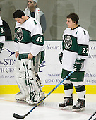 Erik Shields (Plymouth State - 35), Chris Zaremba (Plymouth State - 27) - The visiting Salem State University Vikings defeated the Plymouth State University Panthers 5-2 on Thursday, November 18, 2010, at Hanaway Rink in Plymouth, New Hampshire.