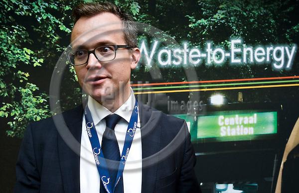 BRUSSELS - BELGIUM - 24 September 2014 -- 7th Confederation of European Waste-to-Energy Plants (CEWEP) Waste-to-Energy Congress 2014 - Local Energy from Local Waste - Affordable, Secure & Sustainable. -- Martin Engelmann, PlasticsEurope. -- PHOTO: Juha ROININEN / EUP-IMAGES
