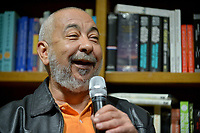CORAL GABLES, FL - JANUARY 08: International Cuban novelist and journalist Leonardo Padura in conversation and book singing with actor and producer Nat Chediak at Books &amp; Books on January 8, 2018 in Coral Gables, Florida.  <br /> CAP/MPI10<br /> &copy;MPI10/Capital Pictures