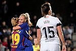Spanish Women's Football League Iberdrola 2017/18 - Game: 9.<br /> FC Barcelona vs Madrid CFF: 7-0.<br /> Barbara Latorre &amp; Toni Duggan.