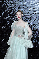 LONDON, ENGLAND - October 09: Elle Fanning attending the European Premiere of 'Maleficent: Mistress of Evil' at BFI IMAX Waterloo on October 09, 2019 in London, England.<br /> CAP/MAR<br /> ©MAR/Capital Pictures /MediaPunch ***NORTH AMERICA ONLY***