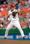16 June 2006: Shawn Hill, pitcher for the Washington Nationals, in action against the New York Yankees at RFK Stadium, in Washington, DC. The Yankees defeated the Nationals 7-5 in the first meeting of the two franchises...Mandatory Photo Credit: Ed Wolfstein Photo...