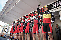 Brabantse Pijl 2012.Leuven-Overijse: 195,7km..Team BMC salutes