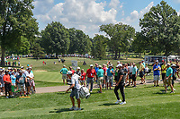 Brooks Koepka (USA) heads down 8 during 3rd round of the World Golf Championships - Bridgestone Invitational, at the Firestone Country Club, Akron, Ohio. 8/4/2018.<br /> Picture: Golffile | Ken Murray<br /> <br /> <br /> All photo usage must carry mandatory copyright credit (© Golffile | Ken Murray)