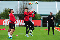 Daniel James of Wales in action during the Wales Training Session at The Vale Resort in Cardiff, Wales, UK. Saturday 12 October 2019