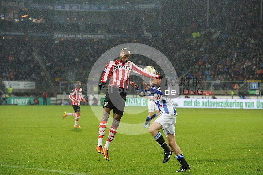 VOETBAL: HEERENVEEN: Abe Lenstra Stadion, 09-03-2013, SC Heerenveen - PSV, Eindstand 2-1, ©foto Martin de Jong