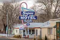 The Supai Motel on Route 66 in Seligman Arizona.