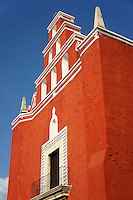 The Templo de San Juan de Dios in Merida, Yucatan, Mexico