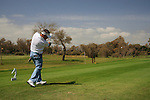 Paul McGinley (IRL) tees off on the 17th tee during Day 3 Saturday of the Open de Andalucia de Golf at Parador Golf Club Malaga 26th March 2011. (Photo Eoin Clarke/Golffile 2011)