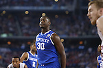 UK forward Julius Randle (30) reacts after missing a free throw shot during the NCAA Championship vs. UConn at the AT&T Stadium in Arlington, Tx., on Monday, April 7, 2014. Photo by Emily Wuetcher | Staff