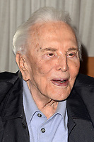 LOS ANGELES - MAY 4:  Kirk Douglas at the 25th Anniversary of the Anne Douglas Center at the LA Mission on May 4, 2017 in Los Angeles, CA