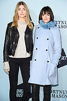 Eve Delf and Sam Rollinson<br /> arriving for the Skate at Somerset House 2017 opening, London<br /> <br /> <br /> ©Ash Knotek  D3351  14/11/2017