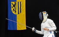 Deutsche Meisterschaft 2013 Fechten Degen - Degenfechten 01.-02.06.2013 in der Ernst-Grube-Halle in Leipzig - im Bild: Fechten in Leipzig / Feature / Symbolfoto - Sina Dostert.   Foto: Norman Rembarz