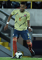 BOGOTA - COLOMBIA, 03-06-2019: William Tesillo jugador de Colombia en acción durante partido amistoso entre Colombia y Panamá jugado en el estadio El Campín en Bogotá, Colombia. / William Tesillo player of Colombia in action during a friendly match between Colombia and Panama played at Estadio El Campin in Bogota, Colombia. Photo: VizzorImage/ Gabriel Aponte / Staff