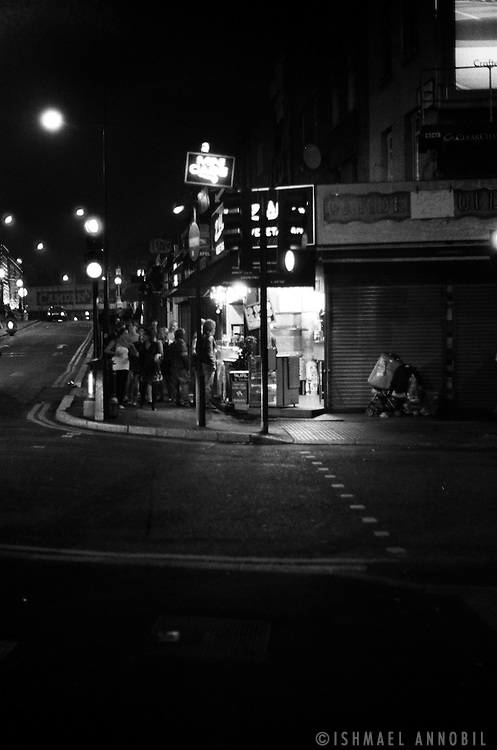 LATE NIGHT BITES. CAMDEN, LONDON