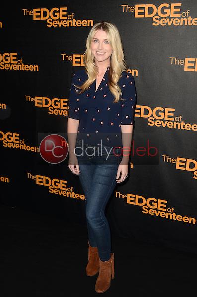 "Kelly Fremon Craig<br /> at the ""Edge of Seventeen"" Photo Call, Four Seasons Hotel, Beverly Hills, CA 10-29-16<br /> David Edwards/DailyCeleb.com 818-249-4998"