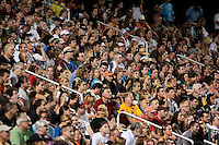 Fans pack the sold-out stadium. The Western New York Flash defeated the magicJack 3-1 in Women's Professional Soccer (WPS) at Sahlen's Stadium in Rochester, NY July 20, 2011.