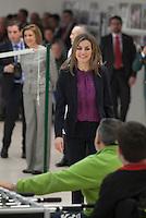 Queen Letizia of Spain visits  the Paraplegic Hospital in Toledo, Spain. February 10, 2015. (ALTERPHOTOS/Victor Blanco) /NORTEphoto.com