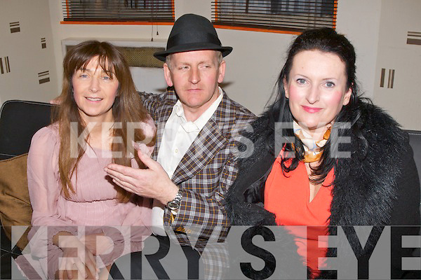 PLAY: Ailing Sharkey, Tadhg OShea and Ann Fitzgerald in action with the comdy play LAST of the REDHOT LOVERS at Abbeydorney Community Hall, on Sunday......