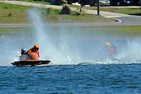 """X"" (hydro)....Stock  Outboard Winter Nationals, Ocoee, Florida, USA.13/14 March, 2010 © F.Peirce Williams 2010"
