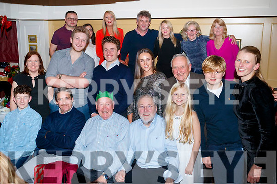 John Ross Jewellers, Tralee, staff members past and present enjoying their Christmas party at the Brogue Inn, Tralee, on Saturday night last.