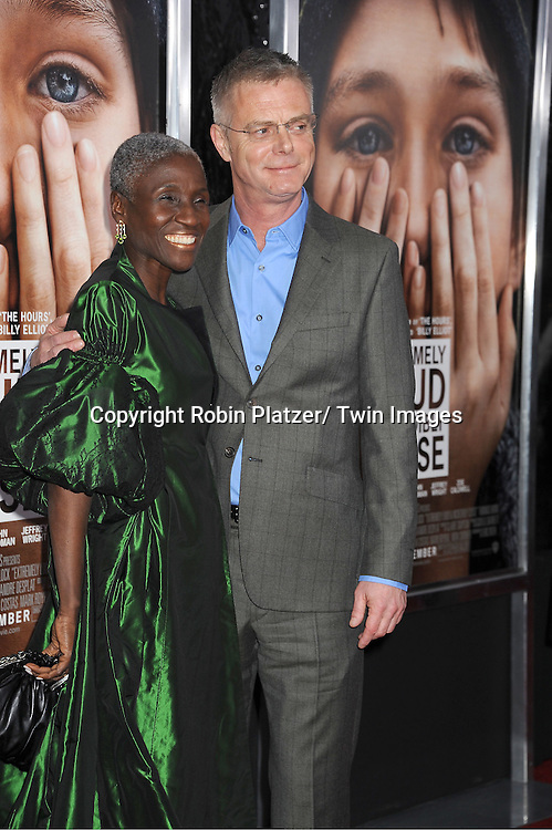 "Stephen Daldry  and guest  attends the New York Premiere of "" Extremely Loud & Incredibly Close"" on December 15, 2011 at The Ziegfeld Theatre in New York City. The movie stars Tom Hanks, Sandra Bullock, Thomas Horn, Max von Sydow, Viola Davis and Jeffrey Wright."