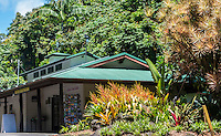 The gift shop at Hawai'i Tropical Botanical Garden in Onomea (near Hilo) on the Big Island of Hawai'i.