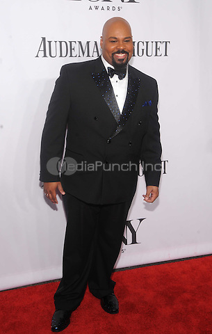 New York, NY- June 8:James Monroe Iglehart attend the American Theater Wing's 68th Annual Tony Awards on June 8, 2014 at Radio City Music Hall in New York City. (C)  Credit: John Palmer/MediaPunch