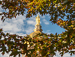 BJ 10.11.16 Golden Dome 10390.JPG by Barbara Johnston/University of Notre Dame