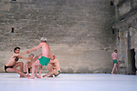 POSTURAL : ETUDES<br /> <br /> Chor&eacute;graphie, conception : Fabrice Ramalingom<br /> Assistant : Lorenzo Dalla&iuml;<br /> Interpr&egrave;tes : Jean-Pierre Alvarez, Patrice Barth&egrave;s, Christophe Brombin, Lorenzo Dalla&iuml;, Ludwig Dufour, Julien Guyon, Jo Heyvaert, Leonardo Montecchia, Karl Paquemar, Pedro Prazeres, Jean Rochereau, Claude Tortorici, Zitto<br /> cadre : festival Uzes danse 2014<br /> Ville : Uzes<br /> Date : 13/06/2014