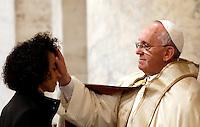 20131123 VATICANO: PAPA FRANCESCO PRESIEDE IL RITO PER L'AMMISSIONE AL CATECUMENATO