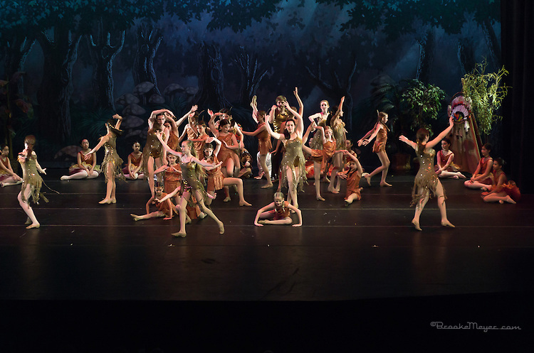 "Sunday Evening, ""Flight To Neverland"", the 2013 Annual Recital by the Cary Ballet Conservatory."