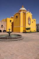 The Plaza de Aranzazu in the city of San Luis de Potosi, Mexico