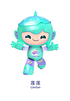 April 3rd 2020; Hangzhou, China; This handout image shows Lianlian, one of the mascots of the 19th Asian Games Hangzhou 2022, unveiled by the Hangzhou Asian Games Organising Committee HAGOC in Hangzhou, east China s Zhejiang Province