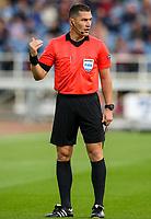 Referee Istvan Kovacs<br /> <br /> Photographer Alex Dodd/CameraSport<br /> <br /> UEFA Europa League - Third Qualifying Round 2nd Leg - Burnley v Istanbul Basaksehir - Thursday 16th August 2018 - Turf Moor - Burnley<br />  <br /> World Copyright © 2018 CameraSport. All rights reserved. 43 Linden Ave. Countesthorpe. Leicester. England. LE8 5PG - Tel: +44 (0) 116 277 4147 - admin@camerasport.com - www.camerasport.com