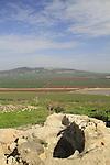 Israel, Jezreel Valley, a water cistern in Tel Jezreel