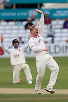 Simon Harmer of Essex with an appeal for the wicket of Nick Compton during Essex CCC vs Middlesex CCC, Specsavers County Championship Division 1 Cricket at The Cloudfm County Ground on 29th June 2017
